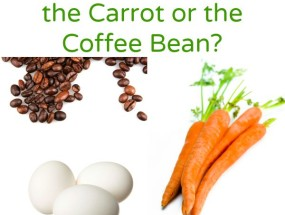 Are you the Egg, the Carrot or the Coffee Bean