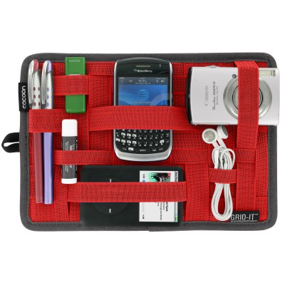 Cocoon Grid-It Organizer for Bags, CPG8RD, Red
