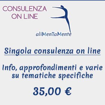 1 consulenze on line con durata media di 45 minuti a seconda delle situazioni