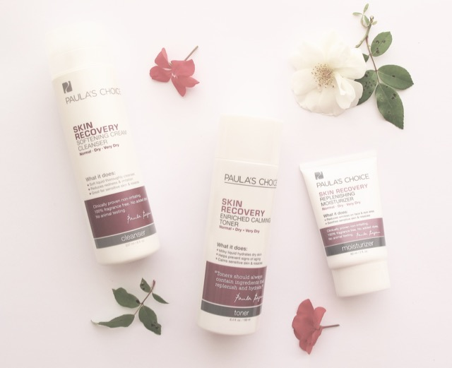 Paula's Choice Skin Recovery Cleanser, Toner & Moisturiser