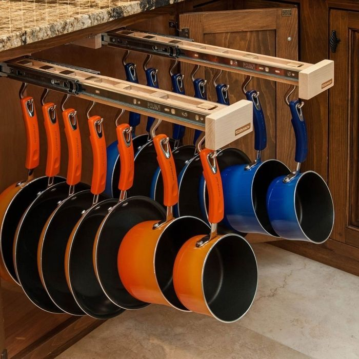 Image of: Ideas to Organize Kitchen Cabinets