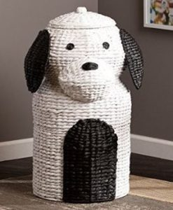 Dog Wicker Hamper
