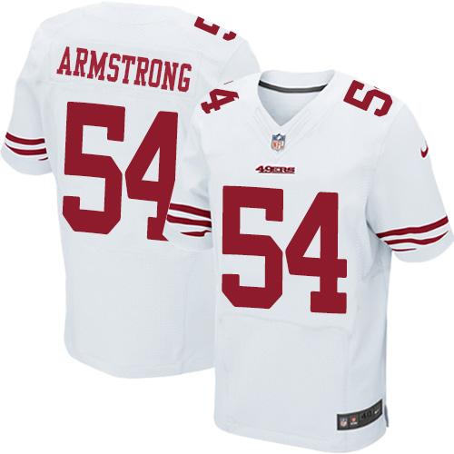 Men's Nick Mullens White Road Elite Football Jersey: San Francisco 49ers #4 Vapor Untouchable  Jersey
