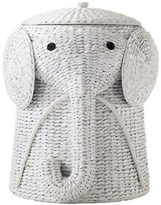Elephant Wicker Hamper
