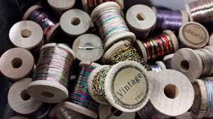 Vintage French tinsel