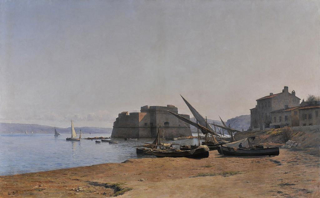 Le Fort Saint Louis au Mourillon vers les années 1880