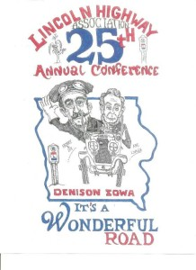 Artwork for the 2017 National Conference in Denison, provided by John Fitzsimmons.