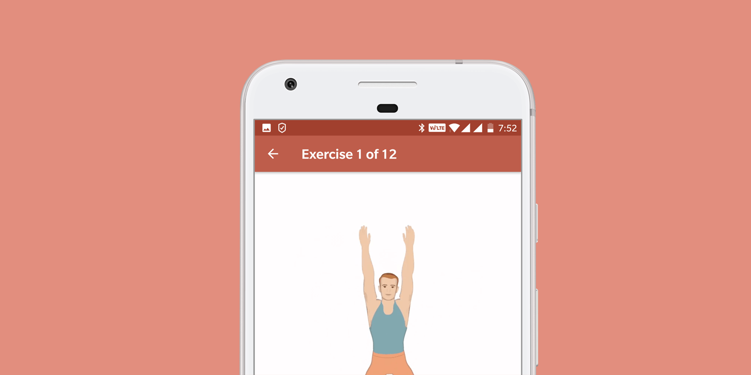 Seven Minute Workout App