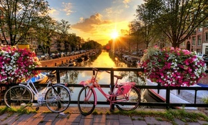 Amsterdam: Canal Cruise for Up To Four with Audio Guide