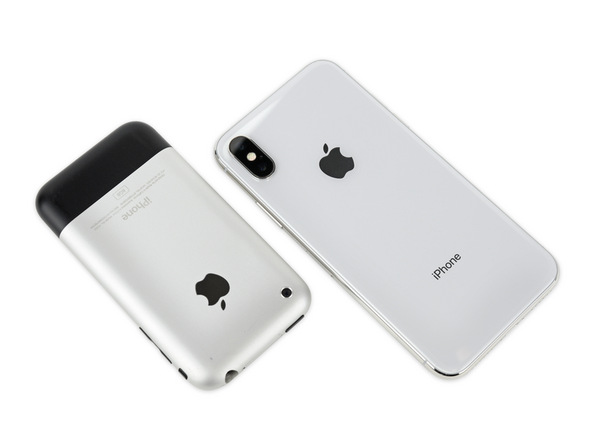 The iPhone has come a long way in ten years. So long in fact, that the design has cycled back a bit, and this rounded iPhone looks more like the original than we've seen in a long time.