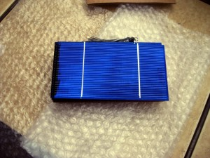 My solar cells as they arrived