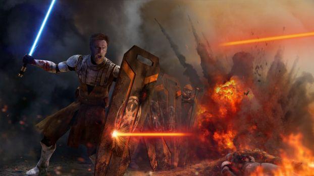 Star Wars - Peacekeeper (Obi-Wan Kenobi) by thetechromancer