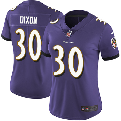 Men's Kenneth Dixon Camo Limited Football Jersey: Baltimore Ravens #30 2018 Salute to Service  Jersey
