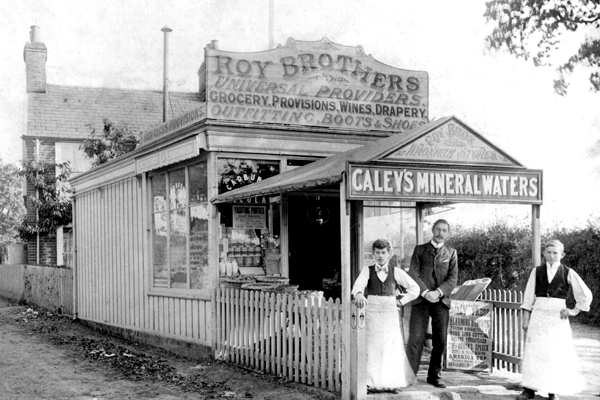 Roys first store 1895