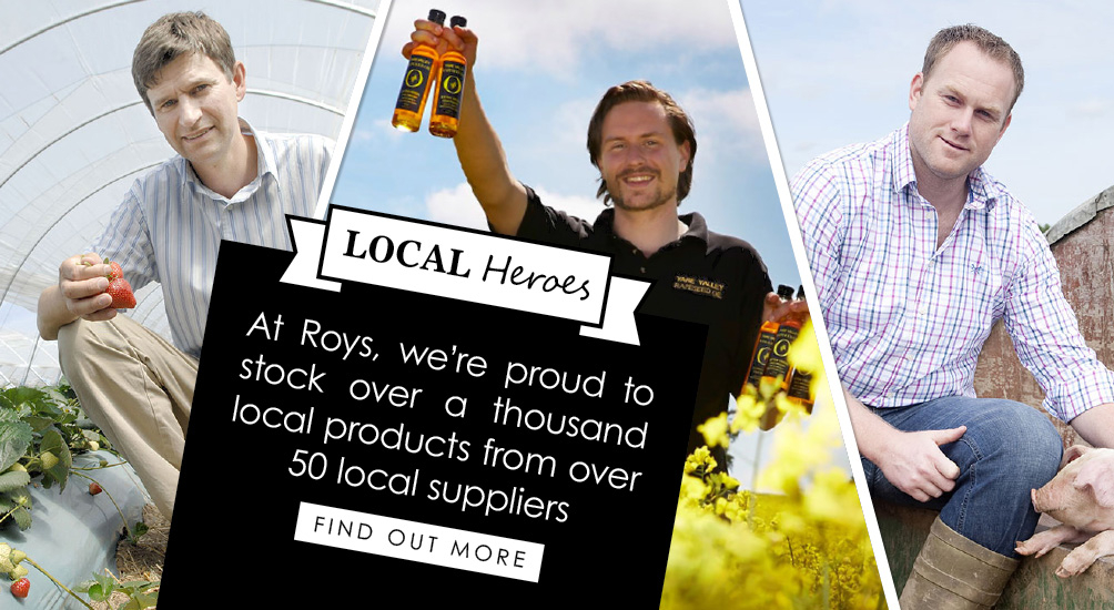 Find out more about our local suppliers
