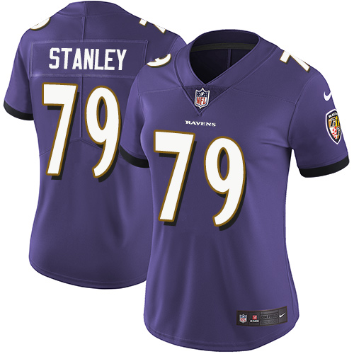 Men's Ronnie Stanley Camo Limited Football Jersey: Baltimore Ravens #79 2018 Salute to Service  Jersey