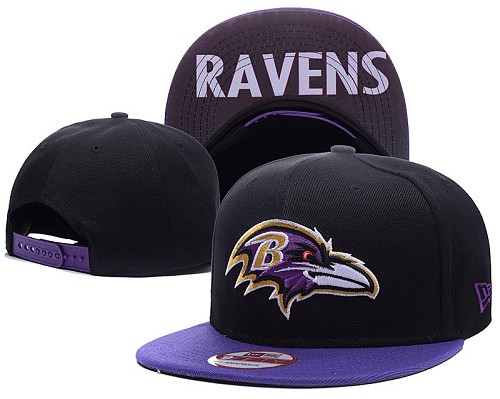 Football Baltimore Ravens Stitched Knit Beanies 018
