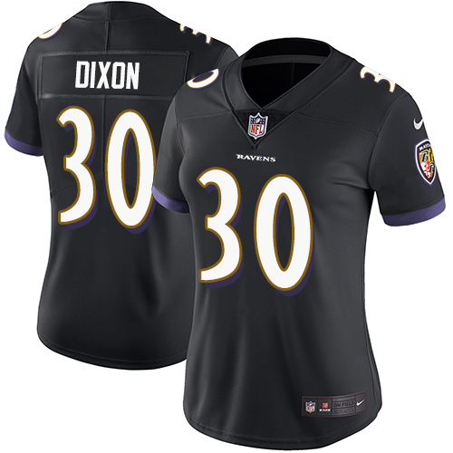 Women's Kenneth Dixon Camo Limited Football Jersey: Baltimore Ravens #30 2018 Salute to Service  Jersey