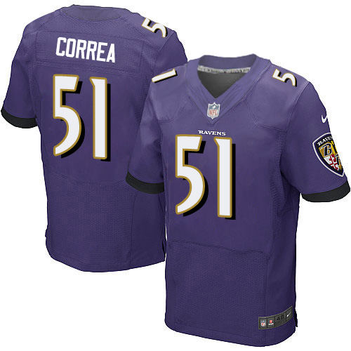 Men's Maurice Canady Purple Home Elite Football Jersey: Baltimore Ravens #26 Vapor Untouchable  Jersey