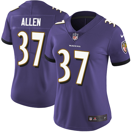 Men's Javorius Allen Camo Limited Football Jersey: Baltimore Ravens #37 2018 Salute to Service  Jersey