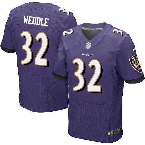 Men's Miles Boykin Purple Home Elite Football Jersey: Baltimore Ravens #80 Vapor Untouchable  Jersey