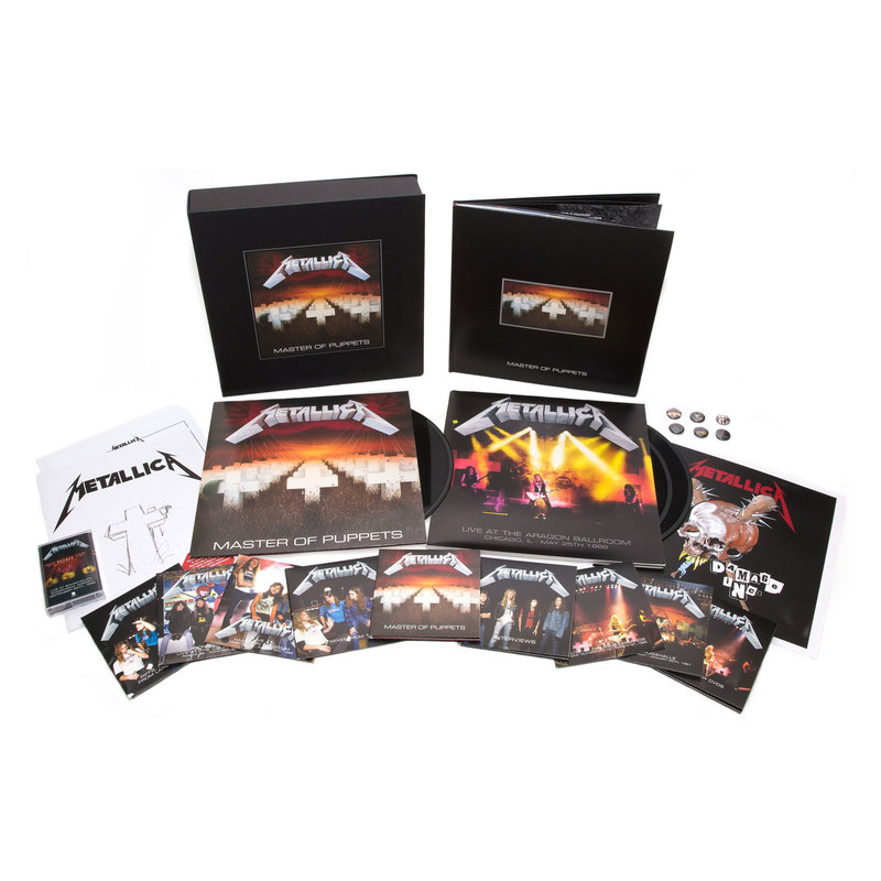 Master of Puppets (Remastered) - Deluxe Box Set