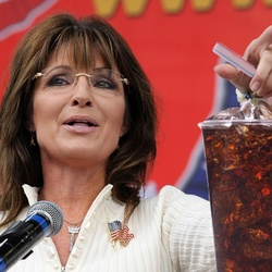 """_Sarah Palin Revels In Victory For """"Liberty-Loving Soda Drinkers"""""""
