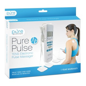 PurePulse Electronic Pulse Massager - Portable