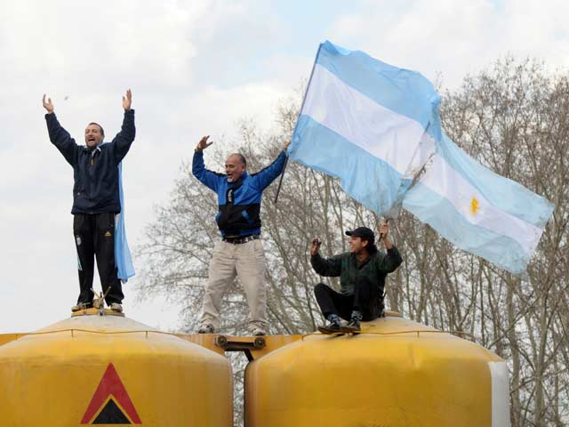FIFA World Cup: Argentina Return to a Heroes' Welcome