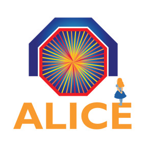 CERN's logo for the ALICE project, showing the portal to the underworld/otherworld underneath a blue (Royal?) arch