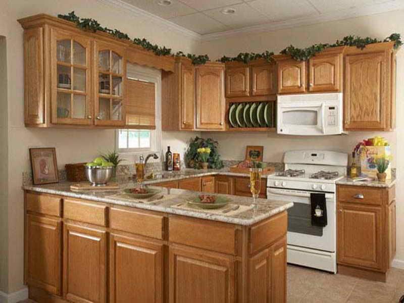 Image of: Quarter Sawn Oak Kitchen Cabinets