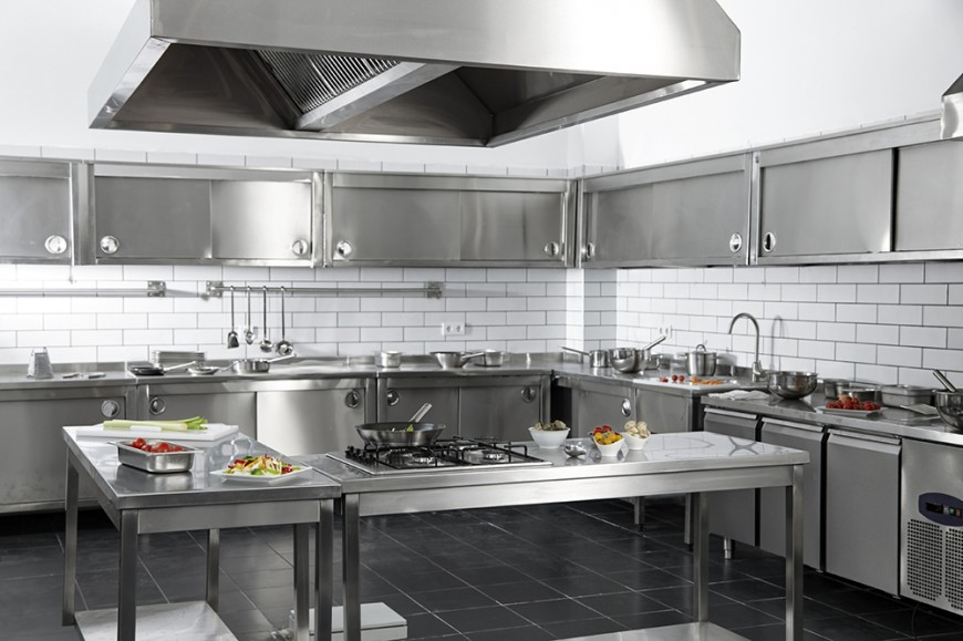 Image of: Stainless Steel Kitchen Cabinets Manufacturers