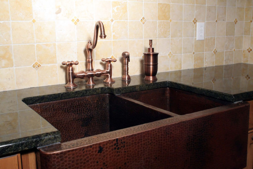Image of: Copper Kitchen Sinks UK