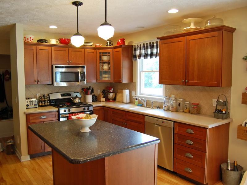 Image of: Oak Kitchen Cabinets Ideas