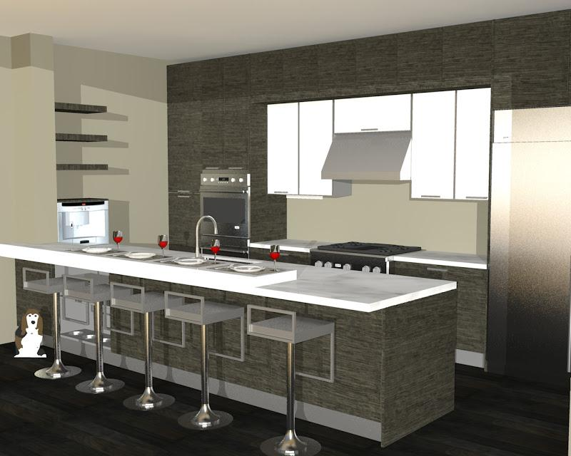 Image of: Kitchen Bar Ideas for Small Space