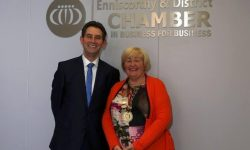 Chamber President Maree Lyng & Chamber Vice President Michael O Leary