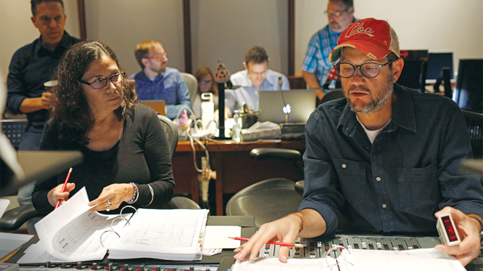 Germaine Franco and Michael Giacchino Composers
