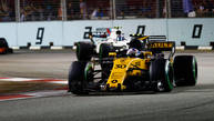 Jolyon Palmer learned he lost his F1 seat with Renault on the Internet
