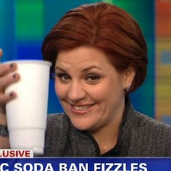 _Quinn Celebrates Big $oda With Giant Diet Coke On Piers Morgan Show