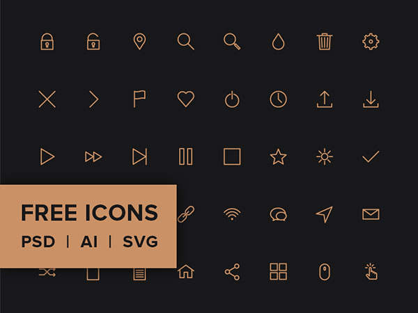 Free-Line-Icon-Pack---PSD,-AI,-SVG-&-WEB-FONT