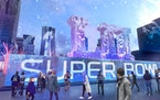 Nicollet Mall Super Bowl Live renderings provided by Super Bowl commit...