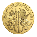 Złota moneta - 1/10 uncji Austria Wiedeńscy Filharmonicy - dostawa do 7 dni