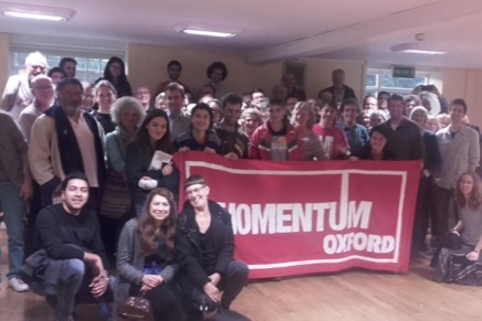 Photo credit: Momentum Oxford
