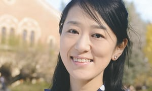 Dr Riko Muranaka, who faced hostility and personal threats as she attempted to counter misinformation around the anti-cancer vaccine. Photograph: Kyoto University