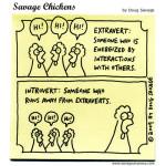 Extrovert Chickens
