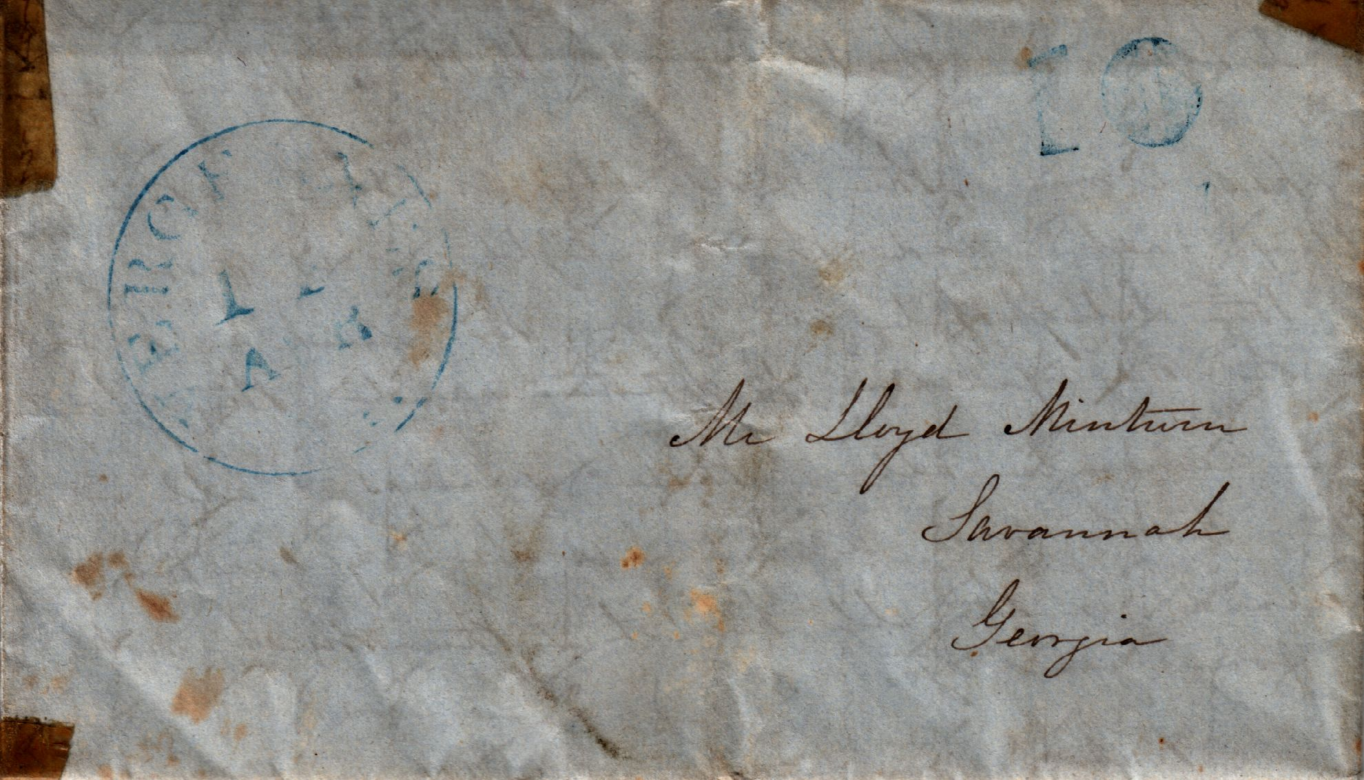 American Civil War Letters - 9 April 1848