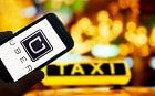 Uber app with taxi