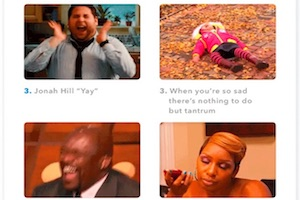 The Five Most Shared GIFs of 2017