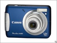 Canon Launches Powershot A480