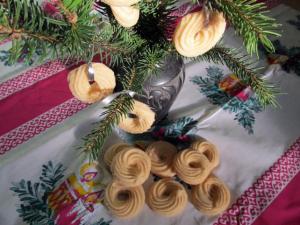 Karácsonyi habkarika - cukor és tojás nélkül